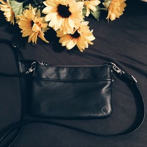 black crossbody bag 🌙